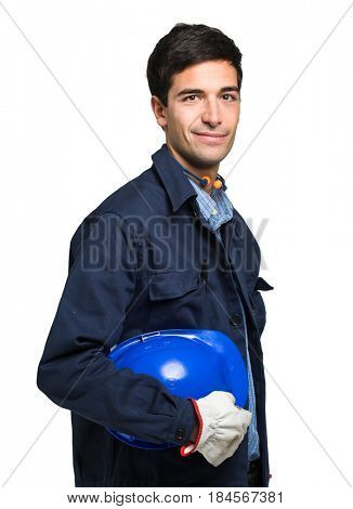 Portrait of an engineer at work