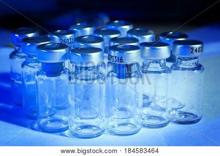 Medicine Glass Ampoules empty  insulin insulin empty