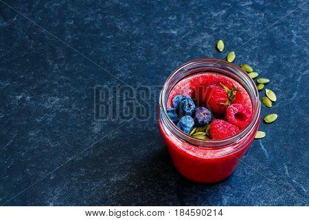 Detox Berry Smoothie