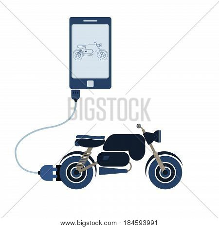 Motorcycle Automation Using Cell Phone