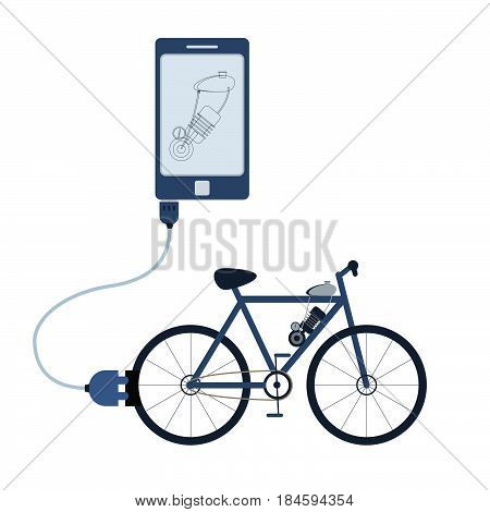 Electric Bicycle Automation Using Cell Phone