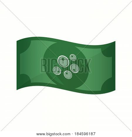 Isolated Bank Note With Oocytes