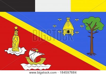 Flag of Arcachon is a commune in the Gironde department in southwestern France