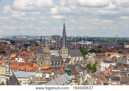 Panoramic View Of Gent