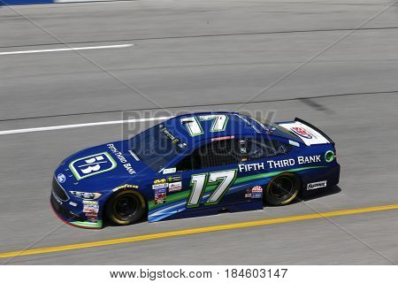 April 28, 2017 - Richmond, Virginia, USA: Ricky Stenhouse Jr. (17) takes to the track to practice for the Toyota Owners 400 at Richmond International Speedway in Richmond, Virginia.