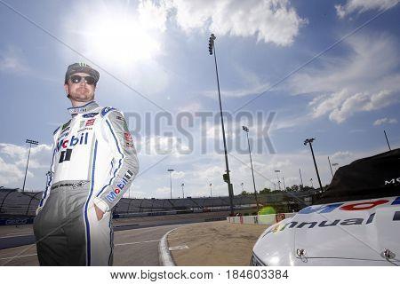 April 28, 2017 - Richmond, Virginia, USA: Kurt Busch (41) waits to qualify for the Toyota Owners 400 at Richmond International Speedway in Richmond, Virginia.