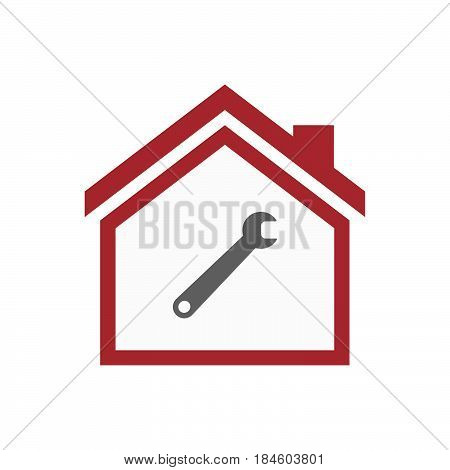 Isolated House With A Spanner