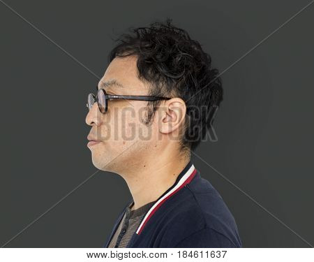 Asian Portrait Photo Standing Adult Side