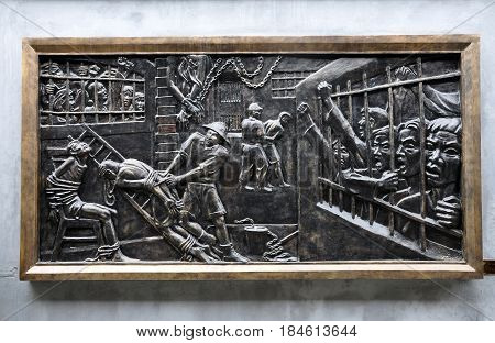 Relief Of Vietnamese Prisoners At Hoa Lo Prison. Hanoi, Vietnam