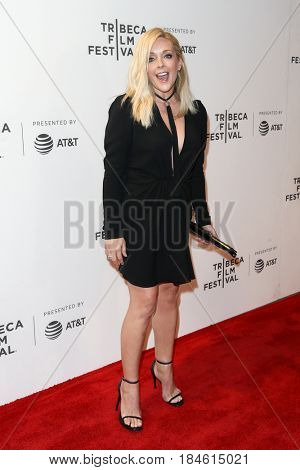 NEW YORK-APR 28: Jane Krakowski attends the 'Unbreakable Kimmy Schmidt' screening at BMCC at PAC during the 2017 TriBeCa Film Festival on April 28, 2017 in New York City.