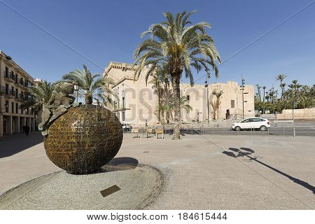 Altamira Palace In The City Of Elche
