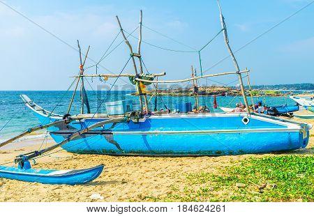 The Blue Oruwa Boat