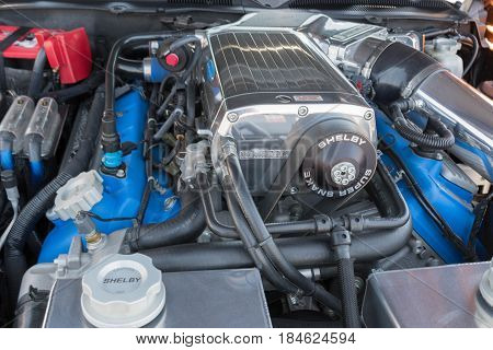 Ford Mustang Gt 500 Super Snake Engine Fifth Generation