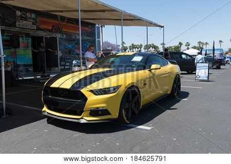 Ford Mustang 5.0 Sixth Generation On Display