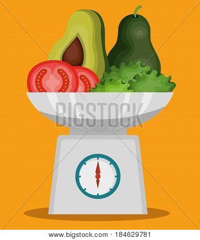 healthy food vegan icons vector illustration design