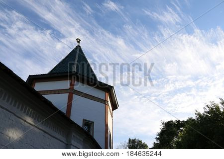 Beautiful Chirch And Blue Sky