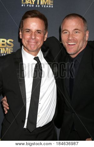 LOS ANGELES - APR 30:  Christian Le Blanc, Sean Carrigan at the CBS Daytime Emmy After Party at the Pasadena Conferene Center on April 30, 2017 in Pasadena, CA