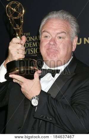 LOS ANGELES - APR 30:  Jim O'Heir, Bold and the Beautiful in the 44th Daytime Emmy Awards Press Room at the Pasadena Civic Auditorium on April 30, 2017 in Pasadena, CA