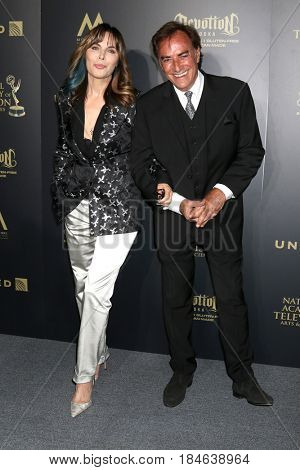 LOS ANGELES - APR 29:  Lauren Koslow, Thaao Penghlis at the 2017 Creative Daytime Emmy Awards at the Pasadena Civic Auditorium on April 29, 2017 in Pasadena, CA