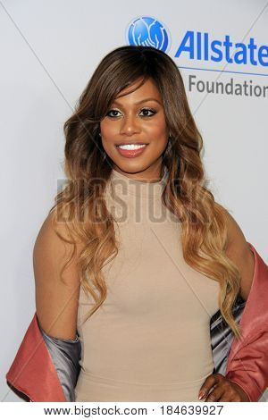 , LOS ANGELES - APR 27:  Laverne Cox at the We Day California 2017 at The Forum on April 27, 2017 in Inglewood, CA