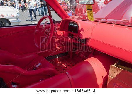 Ford Mustang Vicious 1965 1,000 Horsepower 5.1-liter V8 Interior