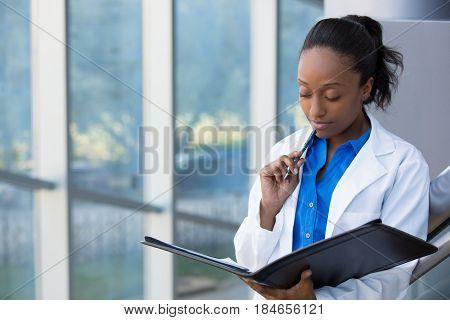 Pensive Healthcare Professional