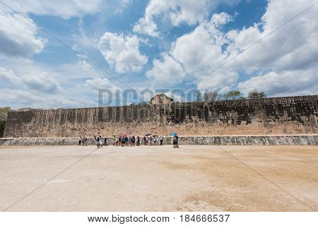 The Great Ball Court for playing