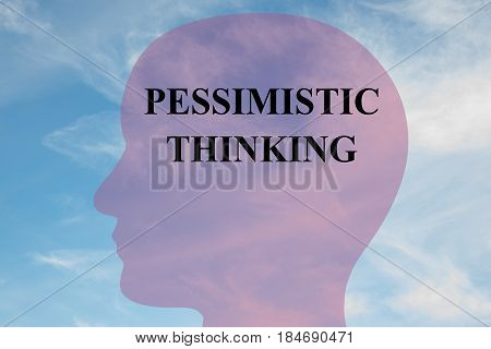 Pessimistic Thinking - Mental Concept