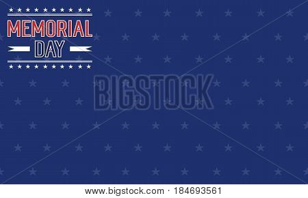 Collection stock of memorial day background vector art