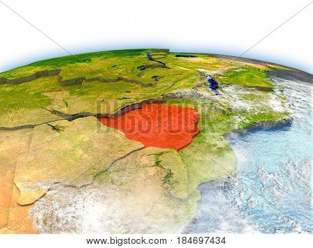 Zimbabwe On Globe