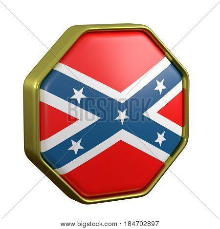 Confederated Flag Sign