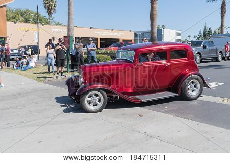 Ford Hot Rod On Display