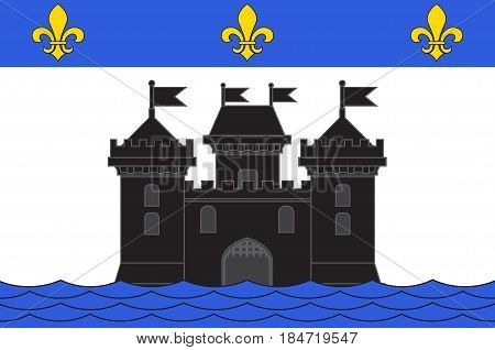 Flag of Bellac is a commune in the Haute-Vienne department in the Nouvelle-Aquitaine region in western France
