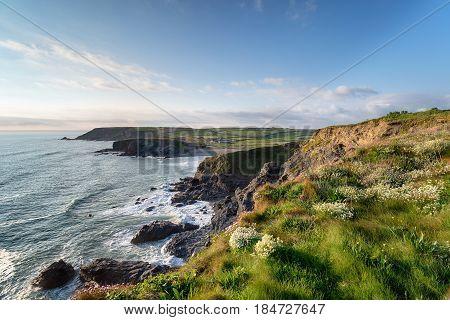 Gunwalloe On The Cornwall Coast