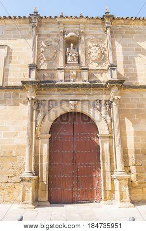Old Church of St. Peter Ubeda Spain