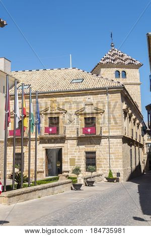 Counts of Guadiana old Palace Ubeda Spain