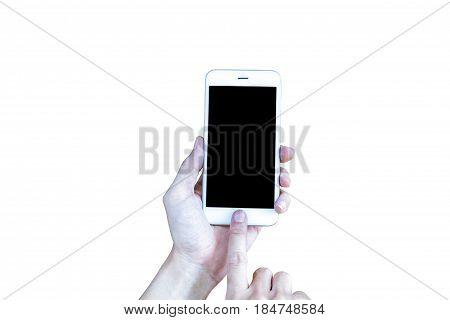 Holding Smart Phone