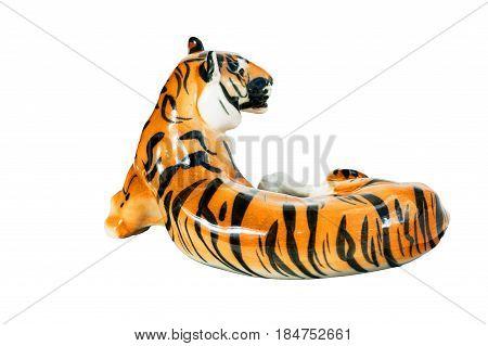 Figurine Lying Tiger.
