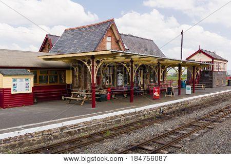 Bala Lake Narrow Gauge Steam Railway