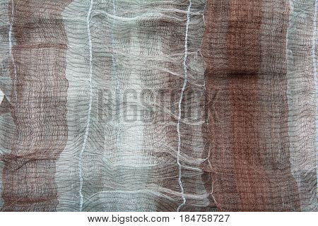 Thin Gray-brown Fabric