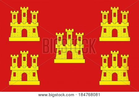Flag of Poitou was a province of west-central France whose capital city was Poitiers