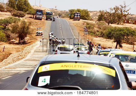 Embrace the World Cycling at Tour du Senegal 2017.