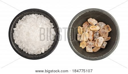 Large Crystals Of Natural Cane Sugar Or Brown Lump Caramelized Saccharose