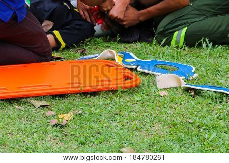 stretcher rescue emergency medical service a help patient in a rescue situation