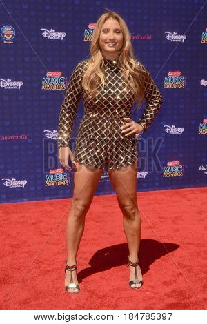 LOS ANGELES - APR 29:  Montana Tucker at the 2017 Radio Disney Music Awards at the Microsoft Theater on April 29, 2017 in Los Angeles, CA
