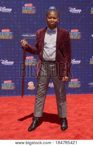 LOS ANGELES - APR 29:  Brandon Severs at the 2017 Radio Disney Music Awards at the Microsoft Theater on April 29, 2017 in Los Angeles, CA
