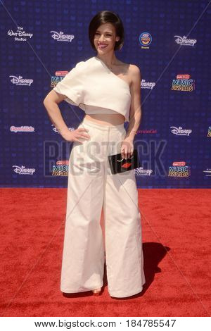 LOS ANGELES - APR 29:  Erin Bowman at the 2017 Radio Disney Music Awards at the Microsoft Theater on April 29, 2017 in Los Angeles, CA