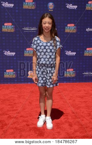 LOS ANGELES - APR 29:  Aubrey Anderson-Emmons at the 2017 Radio Disney Music Awards at the Microsoft Theater on April 29, 2017 in Los Angeles, CA