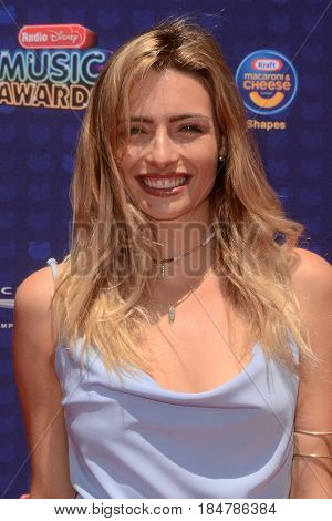 LOS ANGELES - APR 29:  Kirsten Collins at the 2017 Radio Disney Music Awards at the Microsoft Theater on April 29, 2017 in Los Angeles, CA