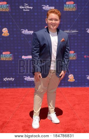 LOS ANGELES - APR 29:  Matthew Royer at the 2017 Radio Disney Music Awards at the Microsoft Theater on April 29, 2017 in Los Angeles, CA